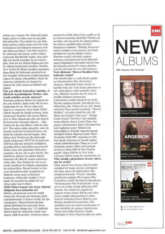 Andante dergi Haziran 2008