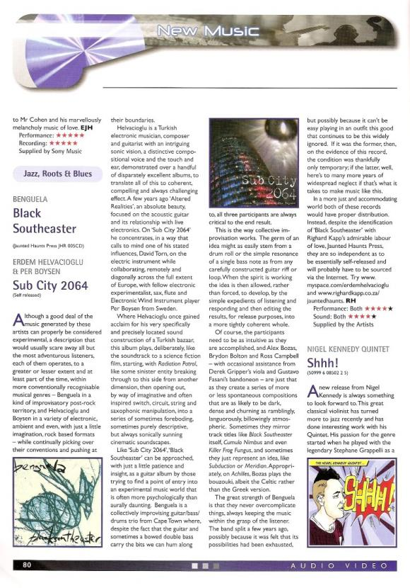 Audio Video Magazine December 2010