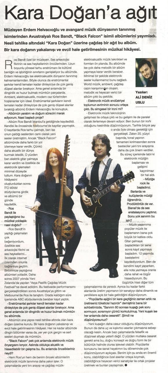 Cumhuriyet gazetesi Ocak 2011