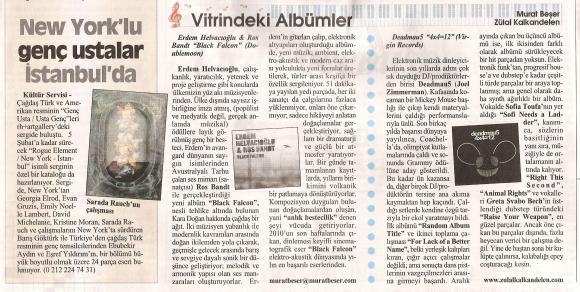 Cumhuriyet gazetesi 16 Ocak 2011