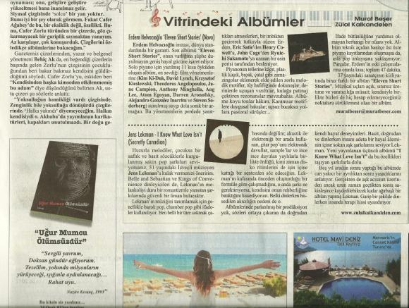 Cumhuriyet Gazetesi 26 Ağustos 2012