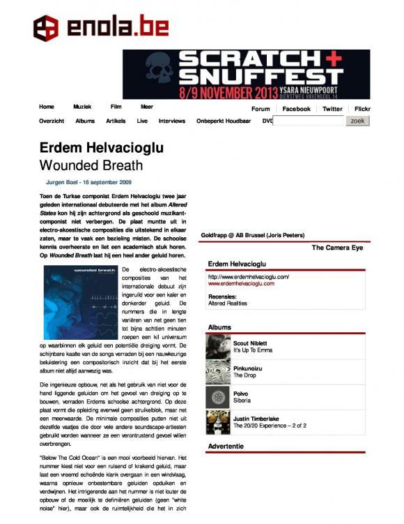 Enola Magazine September 2009