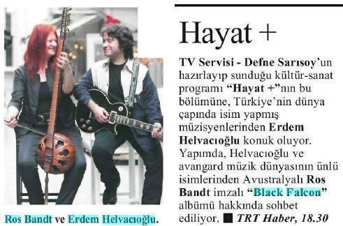 Cumhuriyet gazetesi 13 Ocak 2011