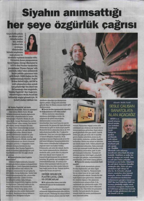 Hürriyet Gazetesi 18 Şubat 2012
