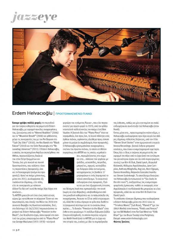 JAZZ & TZAZ Magazine December 2012