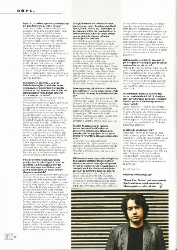 Jazz Dergi Ekim 2012