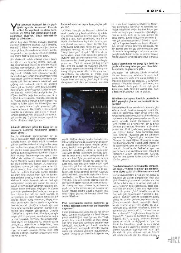 Jazz Dergisi Temmuz 2009