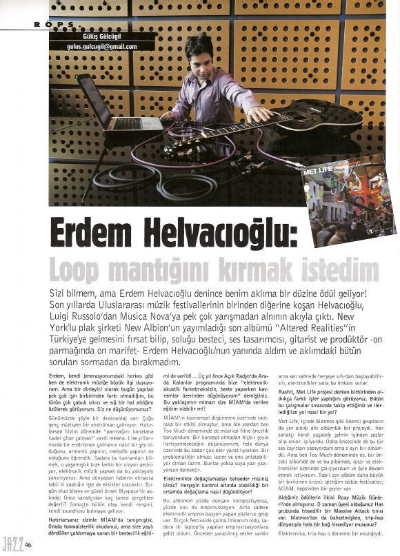 Jazz dergi Temmuz 2007