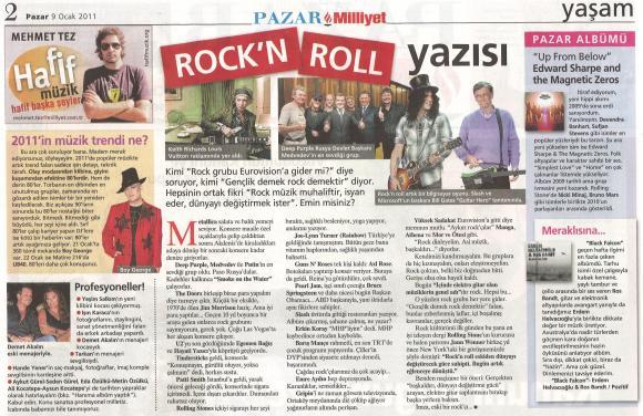Milliyet gazetesi/Mehmet Tez Ocak 2011