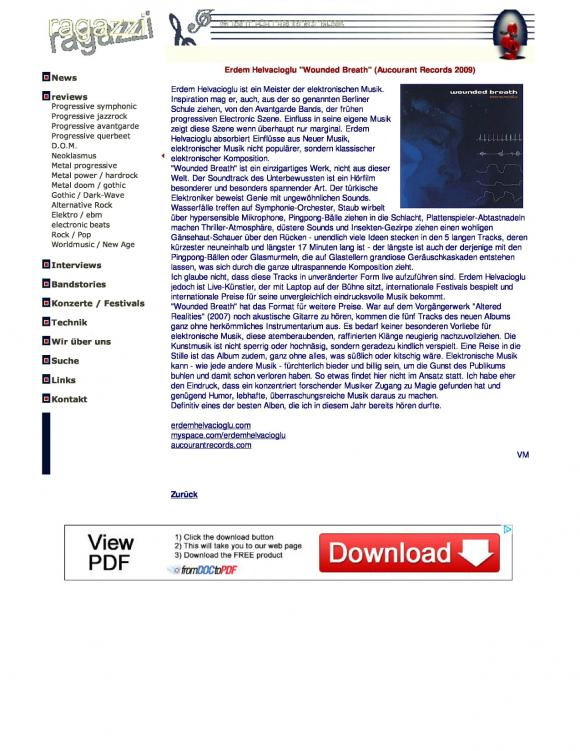 Ragazzi Magazine May 2009