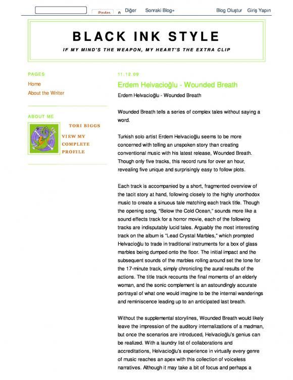 Regen Magazine December 2009