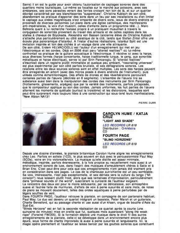 Revue et Corrigee Magazine January 2012