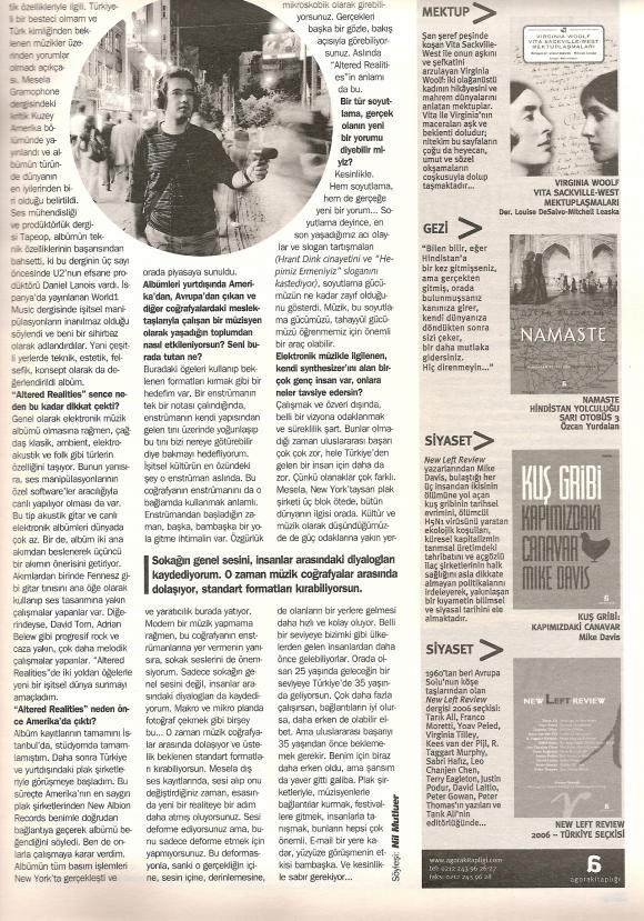 Roll dergi Mayıs 2007