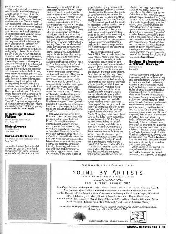SIGNAL to NOISE Magazine Edition 65