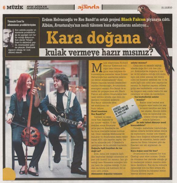 Star gazetesi Aralık 2010