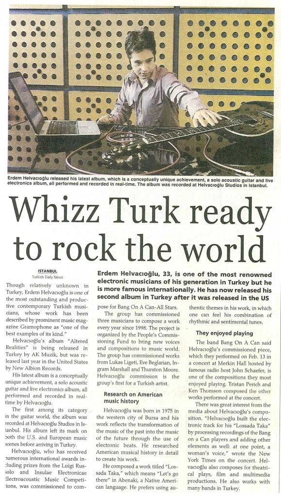turkish daily news 4 april 2008