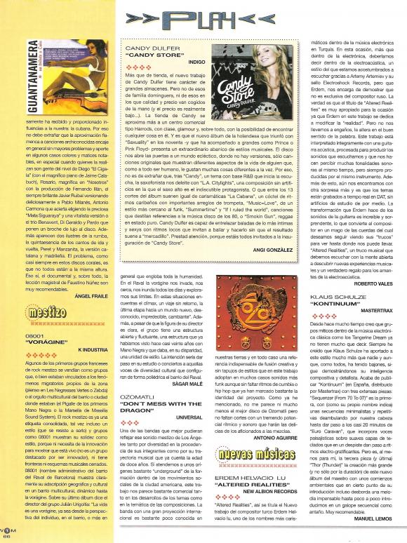 world1 music magazine september 2007